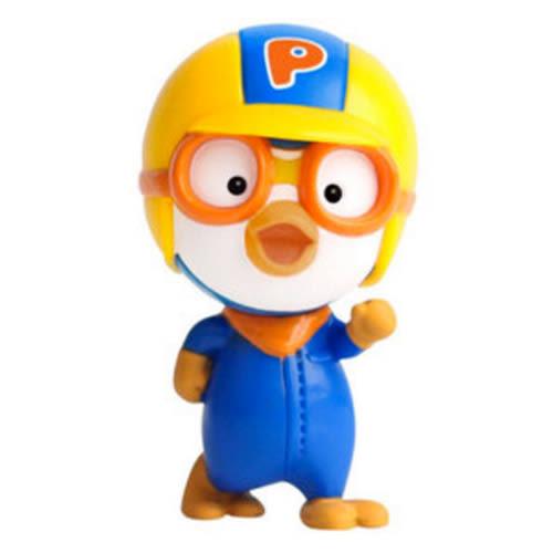 Pororo快樂小企鵝 跑跑Pororo塑膠公仔_RR11002