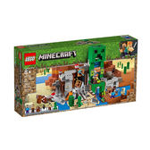 【LEGO 樂高積木】創世神 Minecraft系列-The Creeper Mine(834pcs) LT-21155