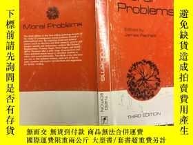 二手書博民逛書店Moral罕見Problems: A Collection of