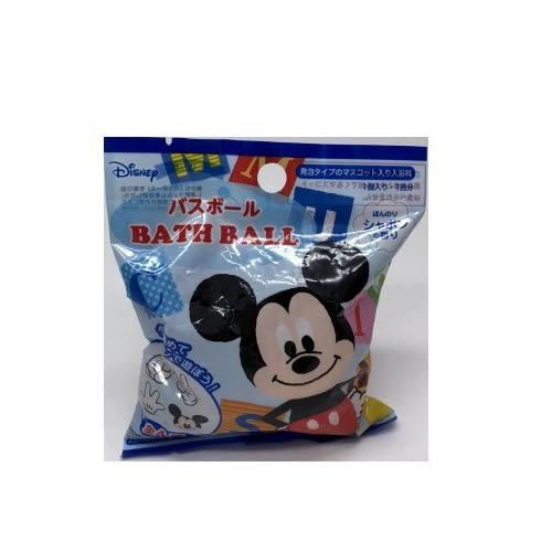 日本 入浴劑 沐浴劑 泡泡球 沐浴球-藍米奇 (0712) 單入 -超級BABY