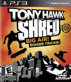 PS3 Tony Hawk: Shred Stand-Alone Software 湯尼霍克:撕碎(美版代購)