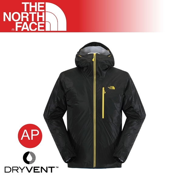 【The North Face 美國 男 FUSE 防水外套《黑》】2SJX/輕量/防風外套/透氣/登山