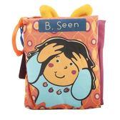 btoys比樂躲貓貓聽聲音布書撕不爛嬰兒早教6-18個月寶寶益智玩具【小梨雜貨鋪】