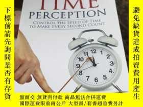 二手書博民逛書店the罕見power of time perception:co