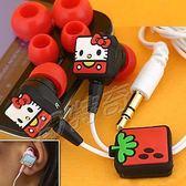 KITTY方塊造型耳塞式耳機289827【玩之內】日本進口正品
