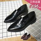包鞋 開口橫帶尖頭包鞋 MA女鞋 T20...