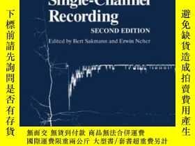 二手書博民逛書店Single-channel罕見Recording-單通道錄音Y436638 Bert Sakmann; Er
