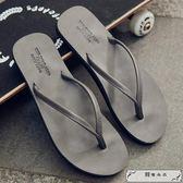 人字拖男情侶夏時尚外穿ins涼拖個性韓版潮流室外沙灘夾腳拖鞋男