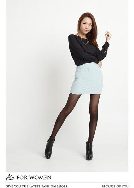 A.S.O 花樣系列 勾織魅惑精緻織紋褲襪-咖啡