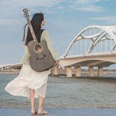 吉他男初學者41寸吉他女學生入門新手自學民謠木吉他 熊熊物語