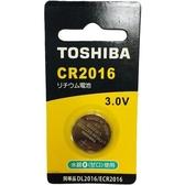 東芝 鈕扣電池CR2016-1入卡【愛買】