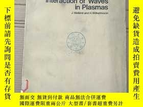 二手書博民逛書店coherent罕見non-linear interaction of waves in plasmas(P211
