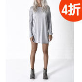 Oneteaspoon 長袖洋裝 WOOL DRESS  -  女(灰)
