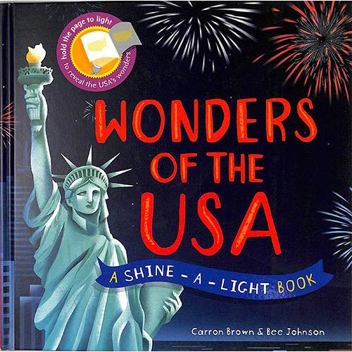 A Shine A Light Book:Wonders Of The USA 透光書:美國篇 精裝繪本