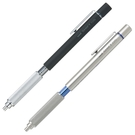 又敗家@日本UNI三菱SHIFT可伸縮筆尖精密繪圖筆自動0.5mm鉛筆M5-1010金屬低重心防滑壓花素描製圖筆