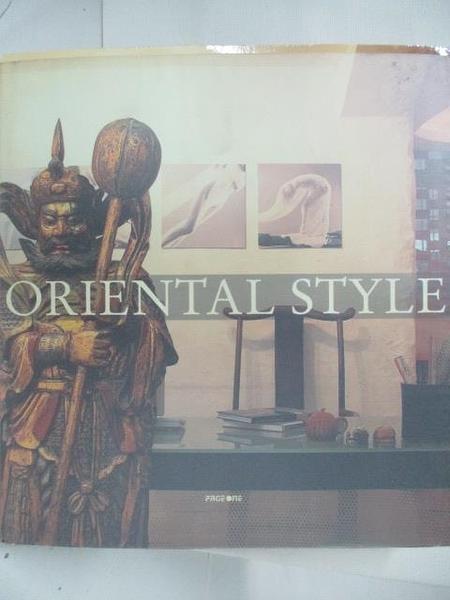 【書寶二手書T9/設計_DN7】Oriental Style_2006年
