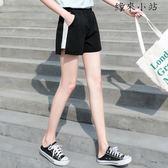 運動短褲闊腿韓版寬鬆熱褲