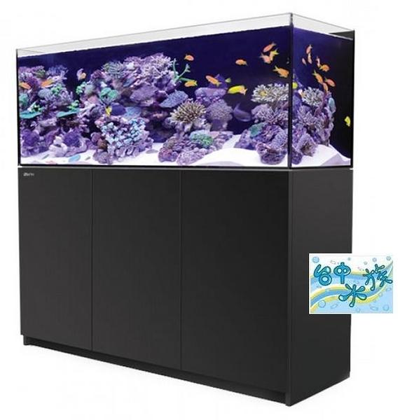 {台中水族}以色列原裝Red Sea -REEFER 450珊瑚礁岩水族套缸(黑)  特價 150*55*50cm 超白玻璃15mm