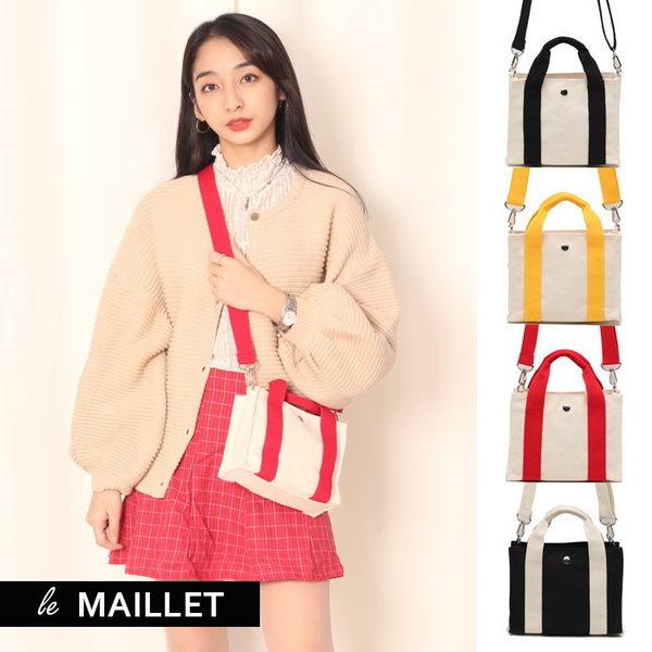 【WHOSE BAG】韓國嚴選佩蒂特帆布手提側背包 NO.LM213