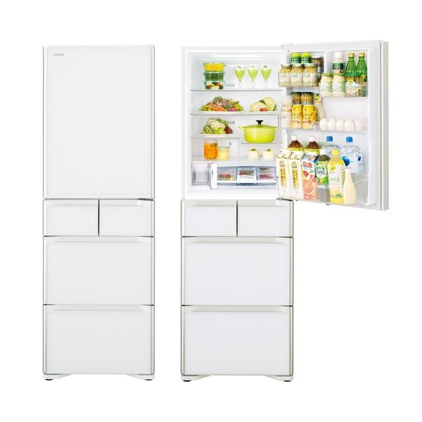 限區含配送+基本安裝*HITACHI 日立 407公升60cm窄身設計五門琉璃變頻冰箱 RSG420J