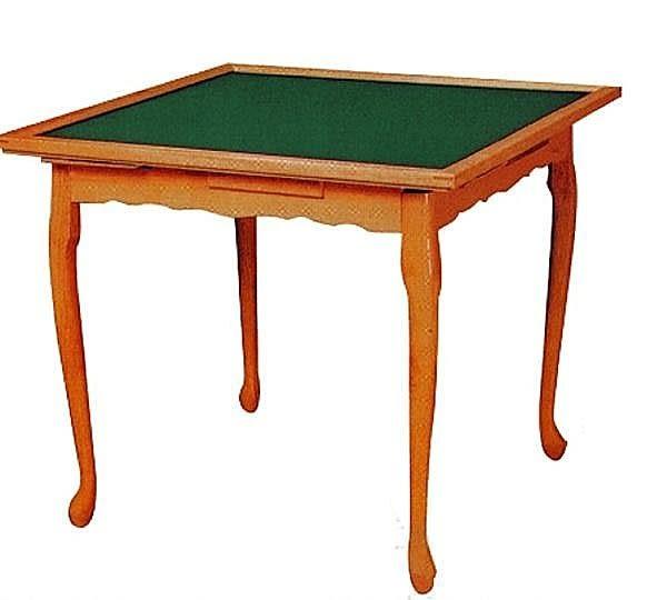 【南洋風休閒傢俱】休閒桌系列 - 虎腳折合麻將餐桌 木腳麻將桌 折合麻將桌 (242-3)