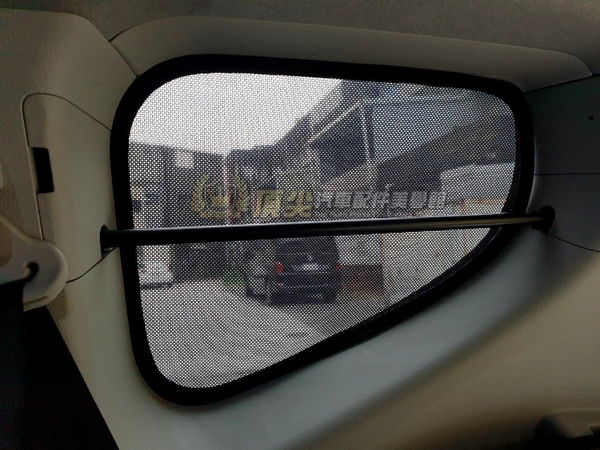 TOYOTA豐田【SIENTA遮陽窗簾-六窗】2016-2021年SIENTA專用 磁吸式窗簾 隔熱簾 遮光簾