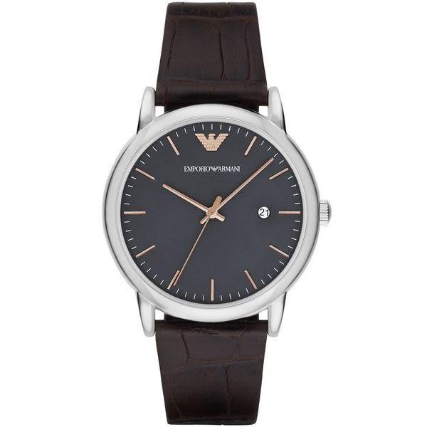 EMPORIO ARMANI 亞曼尼 Luigi系列 經典款男錶AR1996 商務錶款 男錶女錶對錶情侶錶 送禮