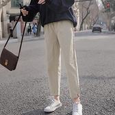 日系老爹褲直筒工裝褲春季哈倫褲休閒褲子女寬鬆春春顯瘦百搭薄款  【端午節特惠】