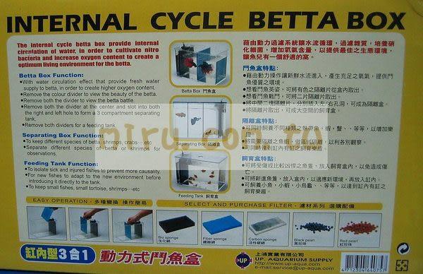 【西高地水族坊】雅柏UP 動力式鬥魚盒(缸內)
