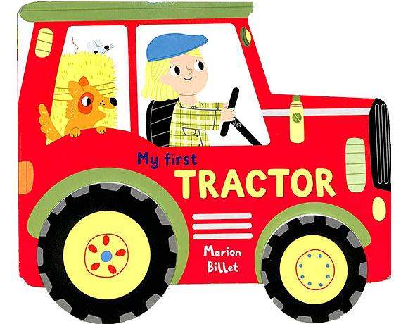 My First Tractor 農場拖拉機~開工! 輪子轉轉硬頁書