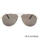 MONTBLANC 萬寶龍眼鏡 MB512T 30J (金) 經典雙槓 太陽眼鏡 蔡司鏡片 久必大眼鏡