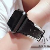 iwatch錶帶真皮表帶apple watch1/2/3代【毒家貨源】