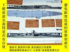 二手書博民逛書店The罕見Aircraft Carriers of World War II and Postwar Period