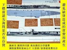 二手書博民逛書店The罕見Aircraft Carriers of World War II and Postwar Period