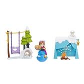 《 Disney 迪士尼 》Hasbro 冰雪奇緣迷你公主遊戲組-安娜 / JOYBUS玩具百貨