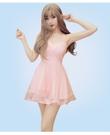 平口洋裝 新款抹胸小禮服 連衣裙夜店女裝性感粉色吊帶裙子 夏禮服蓬蓬a型短裙