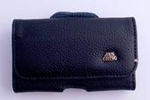 Motorola T720 橫式磁扣掛腰真皮手機套/鎖邊套/手機皮套/手機袋/手機包