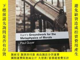二手書博民逛書店Kant s罕見Groundwork for the Metaphysics of MoralsY433260