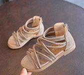 羅馬公主鞋軟底防滑小女孩涼鞋韓版小童涼鞋