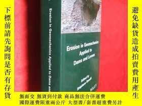 二手書博民逛書店Erosion罕見in Geomechanics Applied