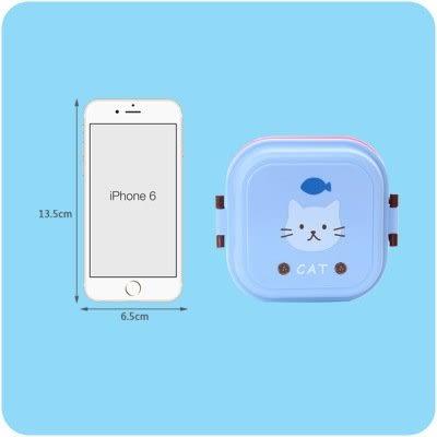 【全館5折】WaBao 卡通迷你雙層便當盒 =D0C161=