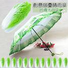 【JAR嚴選】3D創意仿真蔬菜傘 摺疊傘...