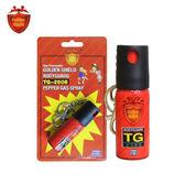 金盾 25cc鑰匙圈防身器 081 TG-2508 / 城市綠洲 (防狼噴霧、辣椒氣體、無毒、無污染、女性安全)