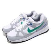 Nike 復古慢跑鞋 Air Span II 灰 綠 老爺鞋 1988經典復刻款 運動鞋 男鞋【PUMP306】 AH8047-012