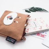 韓國創意激萌卡通可愛柴犬零錢包