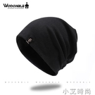 包頭帽男薄款秋冬季睡帽頭巾帽全棉帽子冬天韓版百搭黑色套頭帽男 小艾新品