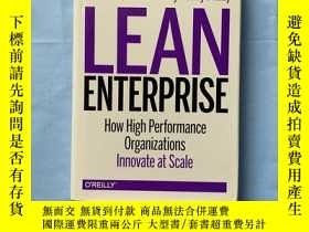 二手書博民逛書店Lean罕見Enterprise: How High Perfo