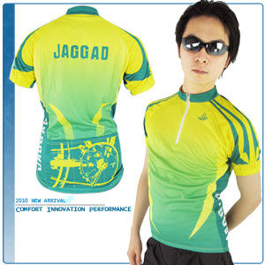 檸檬綠短袖車衣.騎行服.腳踏車衣.自行車衣服.推薦哪裡買專賣店.品牌特賣會.JAGGAD