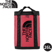 【The North Face EXPLORE FUSEBOX後背包26L《紅》】3KYF/雙肩背包/書包/防水背包/旅遊