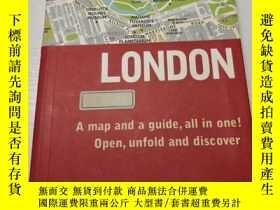 二手書博民逛書店London罕見a map and a guide all in oneY284058 見出版信息 見出版信息